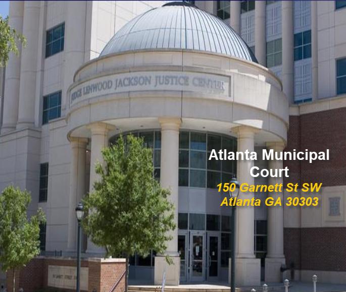 Atlanta Municipal Court 150 Garnett St SW