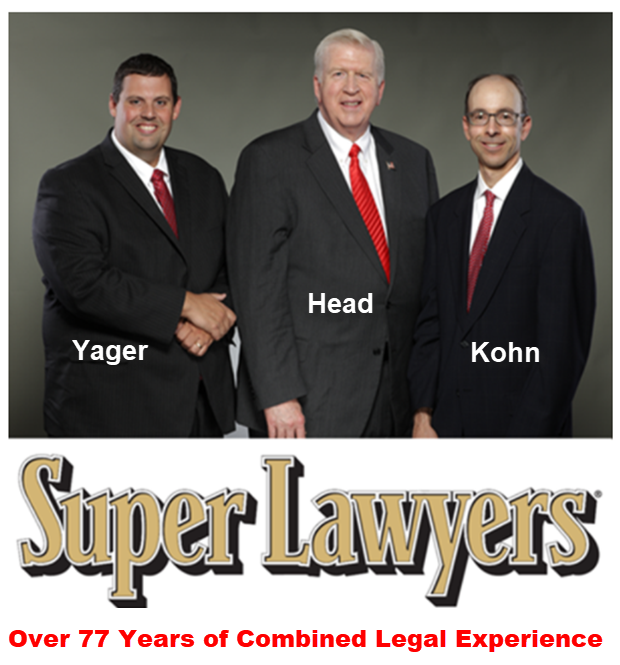 Attorneys Yager, Head, and Kohn