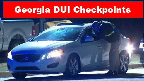 Georgia DUI Roadblocks