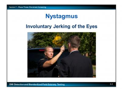 Nystagmus Jerking of the Eyes