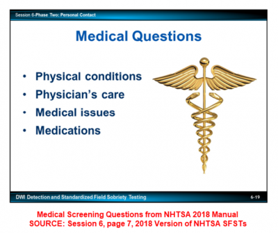 Medical Screening Tests