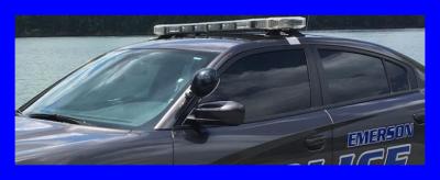 Emerson GA Police Cruiser Car