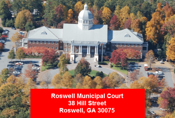 Roswell GA Municipal Court