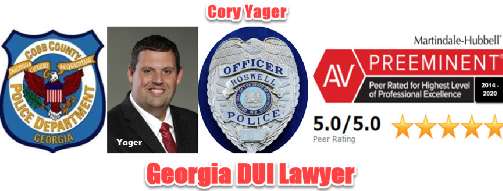 Cobb County DUI Lawyer Cory Yager