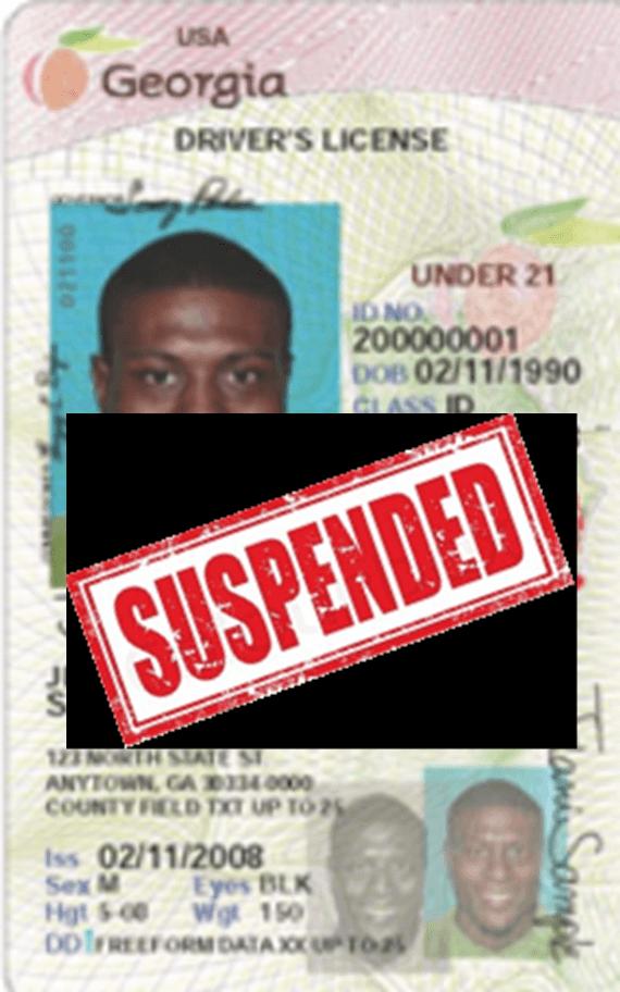 Georgia License Suspension DUI Arrest