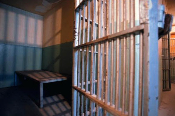 Inside an Old Jail Cell \