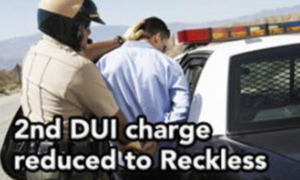 DUI Reduced to Reckless Driving