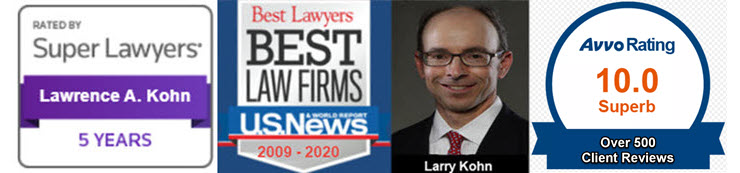 Larry Kohn, award-winning Georgia DUI Lawyer Near Me defending drunk driving cases in the Peach State since 1998